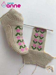 Easy Knitting Patterns, Knitting Stitches, Knitting Designs, Knitting Socks, Knitting Projects, Baby Knitting, Crochet Projects, Start Knitting, Crochet Shoes Pattern