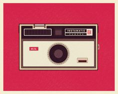 The Camera Illustration Collection by simpleasmilk on Etsy