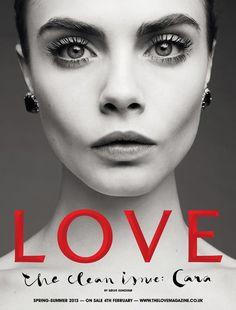 Cara Delevingne - what lovely eyes