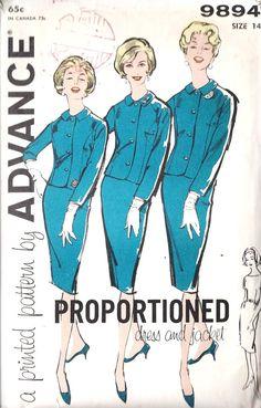 Pan Am Style Suit