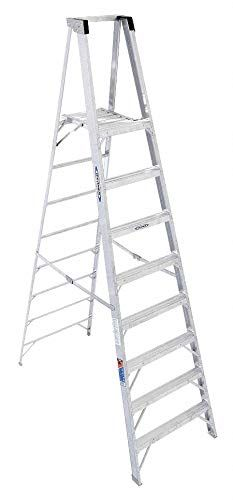 Aluminum Platform Stepladder 10 Ft Ladder Height 8 Ft Platform Height 300 Lb Details Can Be Located By Clicking On The Picture Platform Aluminum Ladder