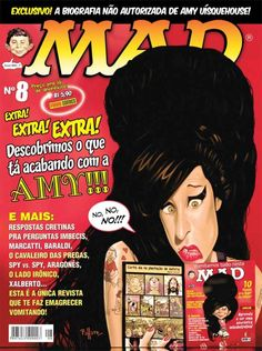 #AmyWinehouse, #MAD October 2008