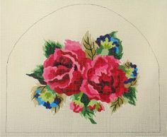 "D-382  Rose Tea Cozy #13 Mesh, 10 1/2"" x 10 1/2"""