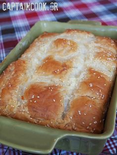 Μηλόπιτα Κέικ Γιαουρτιού Eat Greek, Hot Dog Buns, Recipies, Bread, Blog, Salt, Recipes, Brot, Blogging