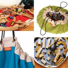 Swoop bags for kids - organize toy, blocks, and lego storage - Can I get one the size of my livingroom floor please?!!?