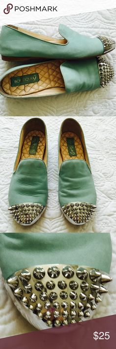 Boutique 9 leather flats Used condition. Boutique 9 Shoes Flats & Loafers