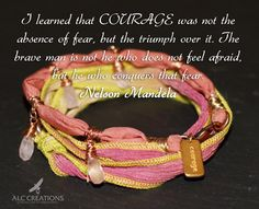 """Courage Has No Boundaries- Multi Warrior Wrap  10% of """" Courage Has No Boundaries"""" sale will go to buyer's choice of charity. Visist ALCCreationsOriginals for more details about this beautiful handmade wrap  Kindness, Anna #handmade #jewelry #tgif #alccreationsoriginals.com"""