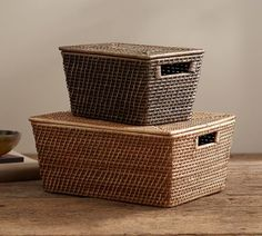Clive Tightweave Utility Basket | Pottery Barn