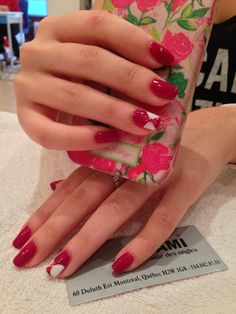 Shellac Tinted love with #bows #diamonds