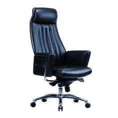 Foshan high back executive adjustable office armchair / lifting swivel black genuine leather office chair with wheels / genuine leather office chair / ergonomic office chair, office furniture manufacturer  http://www.moderndeskchair.com//leather_office_chair/genuine_leather_office_chair/Foshan_high_back_executive_adjustable_office_armchair___lifting_swivel_black_genuine_leather_office_chair_with_wheels_295.html