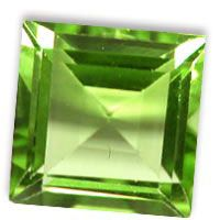 Shop online for high quality Peridot Square shape gemstone in 10mm up for sale at the wholesale prices.