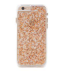 CaseMate 24 Karat Rose Gold Flake iPhone 6 Case #Dillards