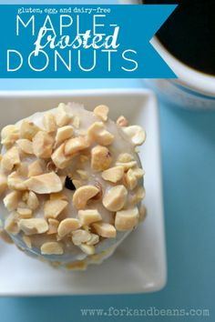 Gluten-free Maple Frosted Donuts will make you want to hug a tree.