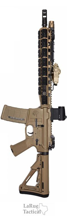 LaRue's Costa OBR in 5.56. Chris Costa's personal made rifle by Larue!  Sick weapon!