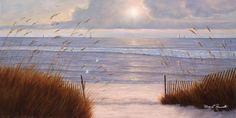 Beach Peace by Diane Romanello - Canvas Print at DianeRomanello.com