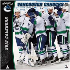 "Vancouver Canucks 2015 12"" x 12"" Wall Calendar"