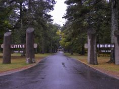 Entrance to Little Bohemia Lodge - Manitowish Waters, Wisconsin