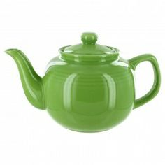 EnglishTeaStore Brand 6 Cup Teapot - Lime Gloss Finish http://www.englishteastore.com/teapots/ets-brand-6-cup-lime.html
