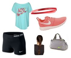 """""""nike way"""" by emma-victoria-e on Polyvore featuring NIKE"""
