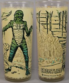 1960s toys | Universal Monsters 1960s Creature From The Black Lagoon Tumbler ...