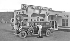 Death Valley Inn and Gas Station. Baker, Nevada,1930.