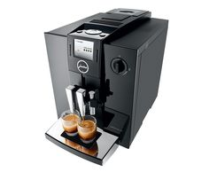 Jura Impressa Automatic Espresso Machine 12 individually programmable specialities Cappuccino frother Amount of water can be adjusted for each preparation Machine A Cafe Expresso, Home Espresso Machine, Espresso Machine Reviews, Coffee Maker Reviews, Espresso Maker, Cappuccino Maker, Jura Espresso, Espresso Coffee, Black Coffee