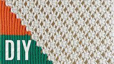 Macramé Tapestry Wall Hanging Tutorial by Macrame School