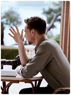#TomHiddleston photographed by Peter Lindbergh for the May Issue of the US Vogue 2013 #TakeTwo