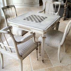 Game table, Boxwood Houston