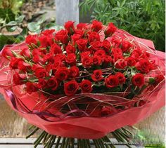 I'm sending you a big bought of roses...