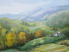 Andrei Branisteanu  - Peisaj de Munte