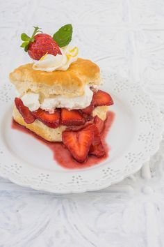 Balsamic Buttermilk Biscuit Shortcake by Suzanne Clements, via 500px