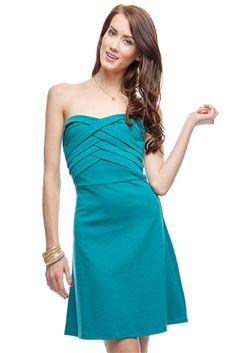 Ya Tube Dress with Pleated Bodice $40.99 #shopsinglethread