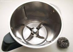 Como limpiar en fondo de la thermomix si esta quemado o manchado – truco - blogs de Recetas Thermomix