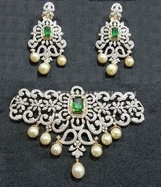 Diamond Choker Set From Arka Diamonds ~ South India Jewels Diamond Choker Necklace, Diamond Pendant, Diamond Jewelry, Cartier Jewelry, Diamond Bracelets, Diamond Rings, Bangles, Antique Jewellery Designs, Jewellery Nz