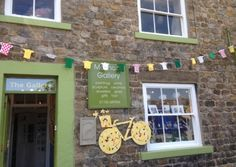 Yorkshire knitters treat the Tour de France to specially made bunting Yorkshire, Bunting, Tours, Sculpture, History, Knitting, Gallery, Frame, Random Stuff
