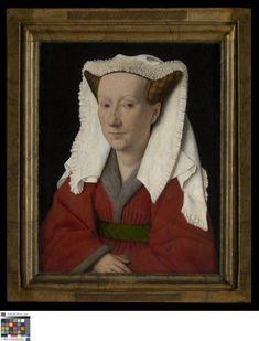 Portret van Margareta van Eyck