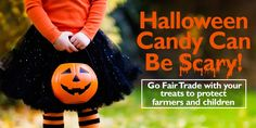 👻 The candy you give trick or treaters may be what's truly scary this Halloween! Halloween Chocolate, Halloween Candy, Green America, Green Gifts, Media Center, Farmer, Scary, Make It Yourself, Canning