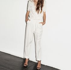 Are you ready for a bridal jumpsuit? Because Houghton is.
