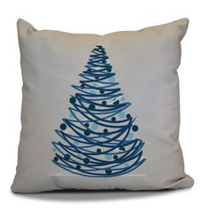 Found it at AllModern - Christmas Tree Outdoor Throw Pillow