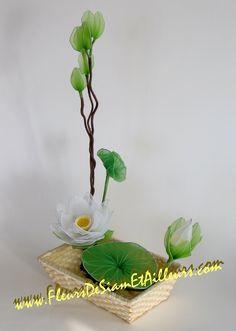 Ikebana avec Lotus