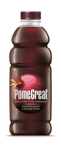 UK pomegranate juice drink brand PomeGreat has launched a new 'super-strength' concentrate. Juice Branding, Juice Packaging, Beverage Packaging, Bottle Packaging, Pomegranate Juice, Organic Energy Drinks, Biscuits Packaging, Starbucks Drinks, Packaging