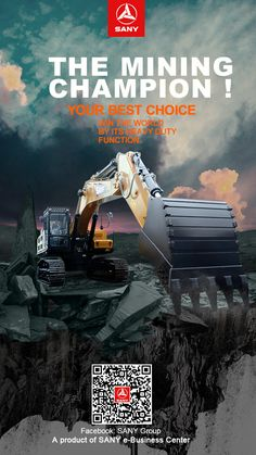 8 Best SANY Poster images in 2018 | Excavator for sale, Mini