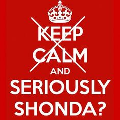 Seriously Shonda??. Greys Anatomy is gonna kill me.