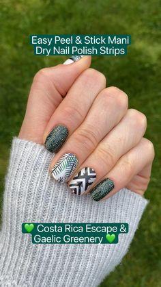 Nail Color Combos, Nail Colors, Pedicure Colors, Camo Nails, Glitter Nails, Fancy Nails, Pretty Nails, Diy Manicure, Manicures