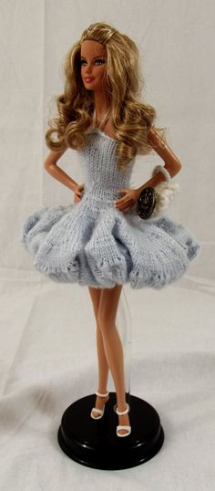 Ice Princess Ballet Dress Barbie Basics Dress by CraftyChrissys, $60.00