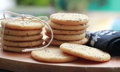 Cookies de Laranja e Lavanda do Blog Pimenta no Reino.