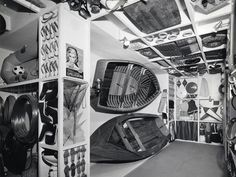Italian Section: Leisure and Water, 13th Triennale of Milan, 1964