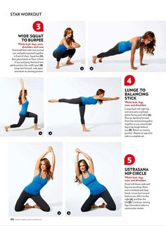 looks like a good workout to try! I'd skip the first set because it's so easy to do squats the wrong way.