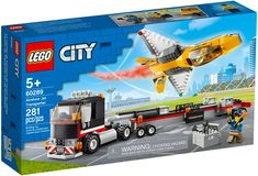 Lego City, Boutique Lego, Building Sets For Kids, Van Lego, Jet, Shop Lego, Free Lego, Lego Models, Construction